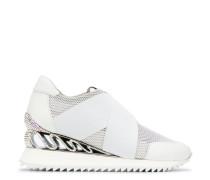 Slip-On-Sneakers mit Wedge