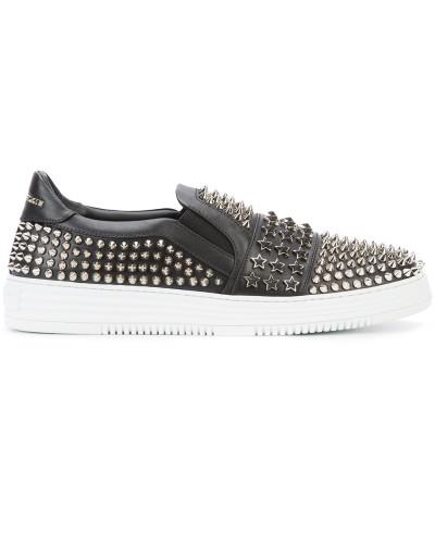 Aus Deutschland Online Erstaunlicher Preis Online Philipp Plein Herren 'Brothers' Sneakers Auslauf Verkaufskosten Günstig Kaufen Großen Rabatt nHLM0Q