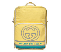 Mittelgroßer Rucksack mit Logo