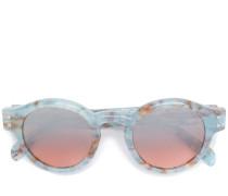 Sonnenbrille mit marmoriertem Effekt