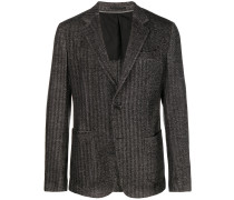 striped print jacket