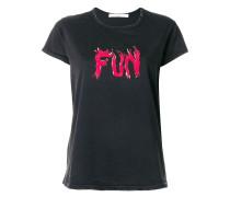 """T-Shirt mit """"Fun""""-Print"""