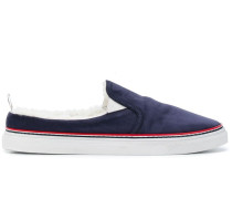 Slip-On-Sneakers mit Shearling-Futter