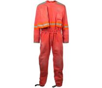 Distressed-Overall im Fireman-Stil