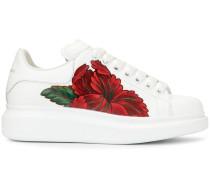 Oversized-Sneakers mit Blumenmuster