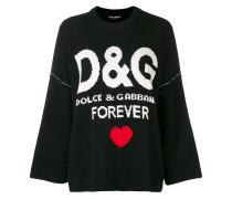 'D&G Forever' Kaschmirpullover