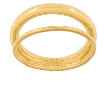 'Offset V' Ring