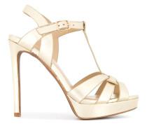Stiletto-Sandalen mit Plateausohle