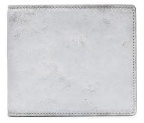 distressed bifold wallet