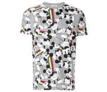 T-Shirt mit Mickey-Print