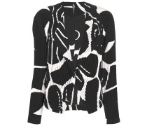 Blazer mit abstraktem Print