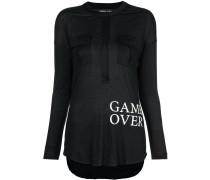 "Hemd mit ""Game Over""-Print"
