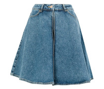 Jeansrock in A-Linie