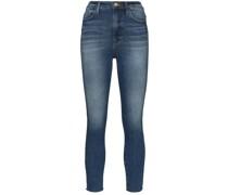 'Ali' Cropped-Skinny-Jeans
