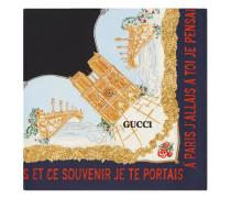 "Schal mit ""Memories of Paris""-Print"
