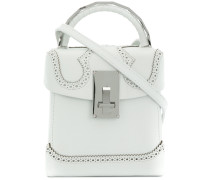 brogue detail handbag