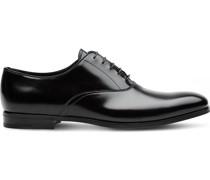 Oxford-Schuhe aus gebürstetem Leder
