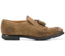 Wildleder-Loafer mit Zierlasche