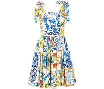 Kleid mit Majolica-Print