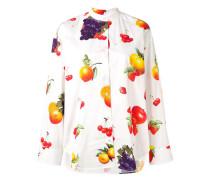 Hemd mit Früchte-Print