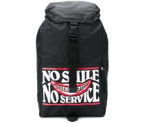 'No Smile No Service' Rucksack