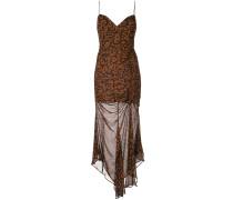 Kleid mit mit Leoparden-Print