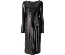 Kleid mit Paillettenstickerei