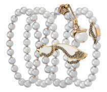 pearl four-bracelets set