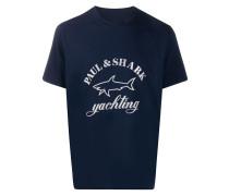 T-Shirt mit Hai-Logo