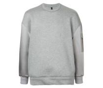 Sweatshirt mit aufgestickten Pfeilen
