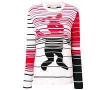 Pullover mit Hasenmotiv
