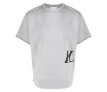 Sweatshirt mit Monogramm-Print