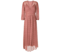 Kleid mit Lochstickerei