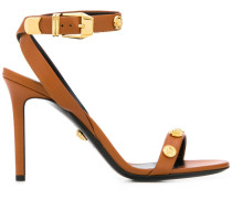 Sandalen mit Medusa-Nieten