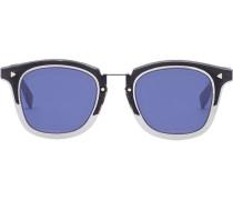 Eckige Sonnenbrille mit FF-Logo