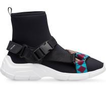 High-Top-Sneakers aus Neopren