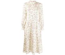 'Goldfinch' Kleid mit Blumen