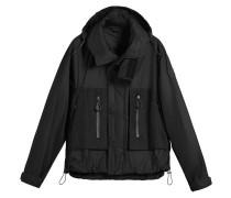 'Packaway' Jacke mit Stehkragen
