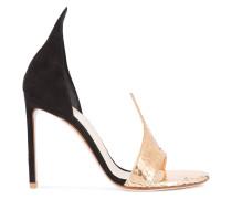 Sandalen mit metallischem Detail