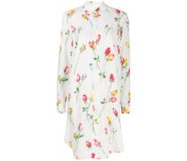 Hemdkleid mit Rosen-Print
