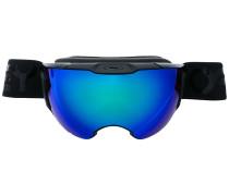 Skibrille mit verspiegelten Gläsern