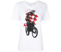 print short-sleeve T-shirt