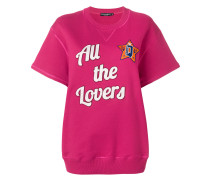 All The Lovers short sleeved sweatshirt
