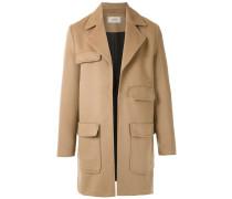 open-front midi coat