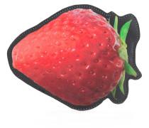 Münztäschchen im Erdbeer-Design