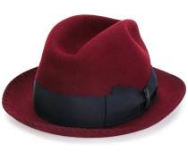 Trilby-Hut mit Kontrastband