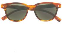 Clip-On-Sonnenbrille mit rundem Gestell