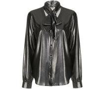 'Gisele' Bluse mit Schleifenkragen