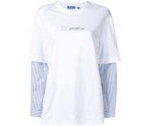 """T-Shirt mit """"Blue Everyday""""-Schriftzug"""