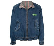 Jacke mit elastischem Saum